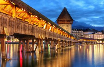 Lucerna (Suíça) – 3 pontos turísticos imperdíveis em 3 minutos